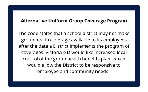 Alternative Uniform Group Coverage Program