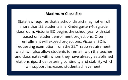 Maximum Class Size
