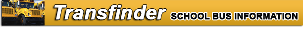 Transfinder School Bus Information