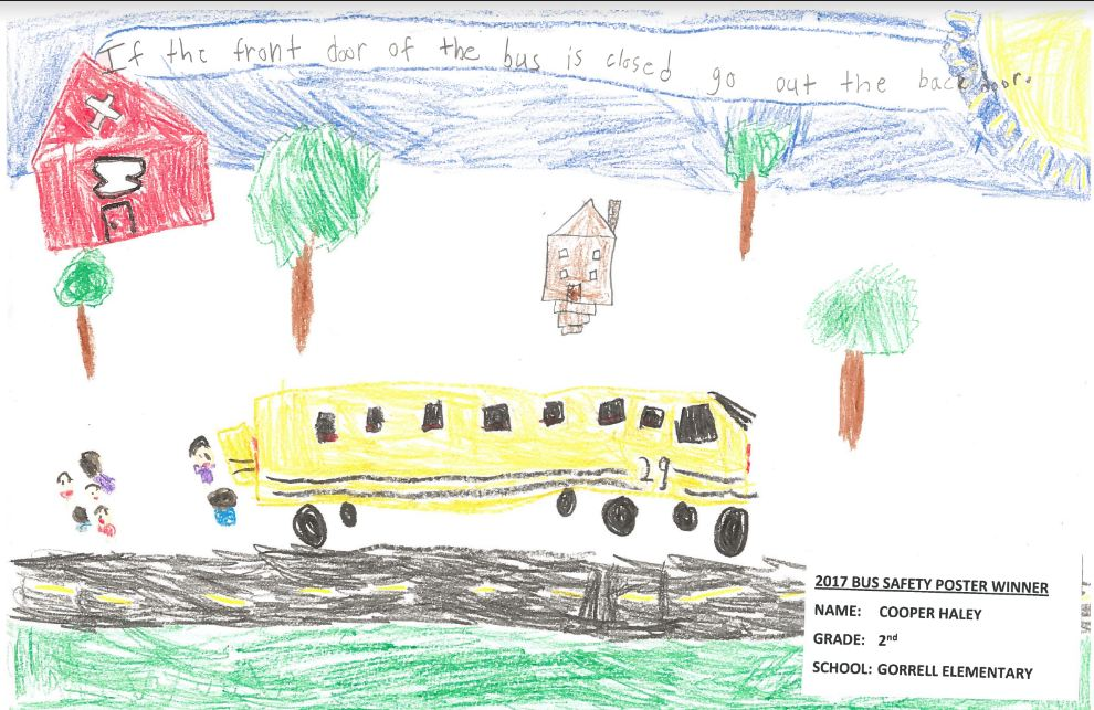 Drawing of the school bus