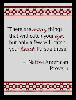 Native American Poverb