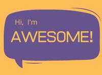 Hi, I'm Awesome!