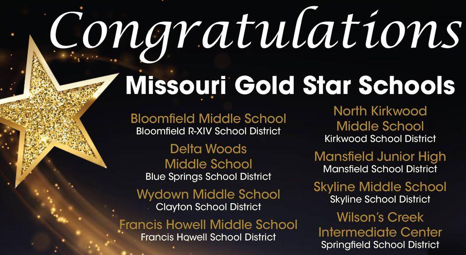 Gold Star School Announcement