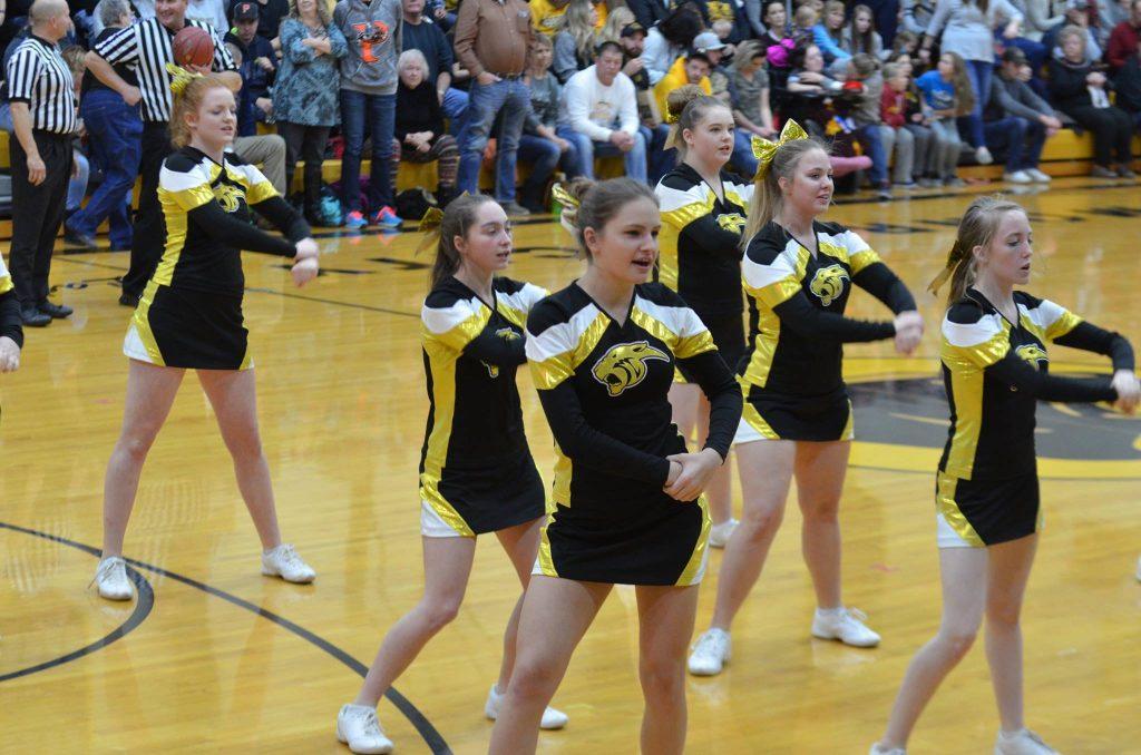 High School Cheerleading