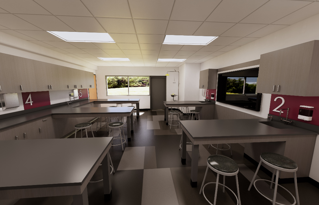 Image of proposed science lab