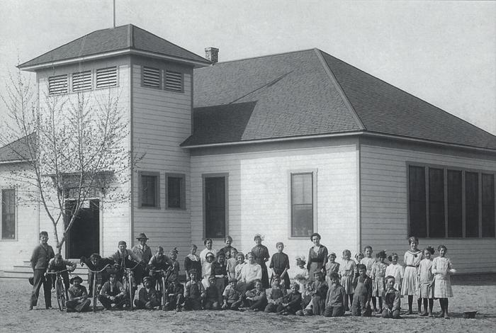 1914 original school building