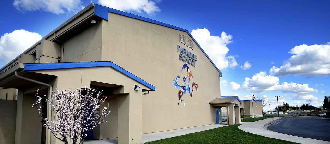 paradise elementary building