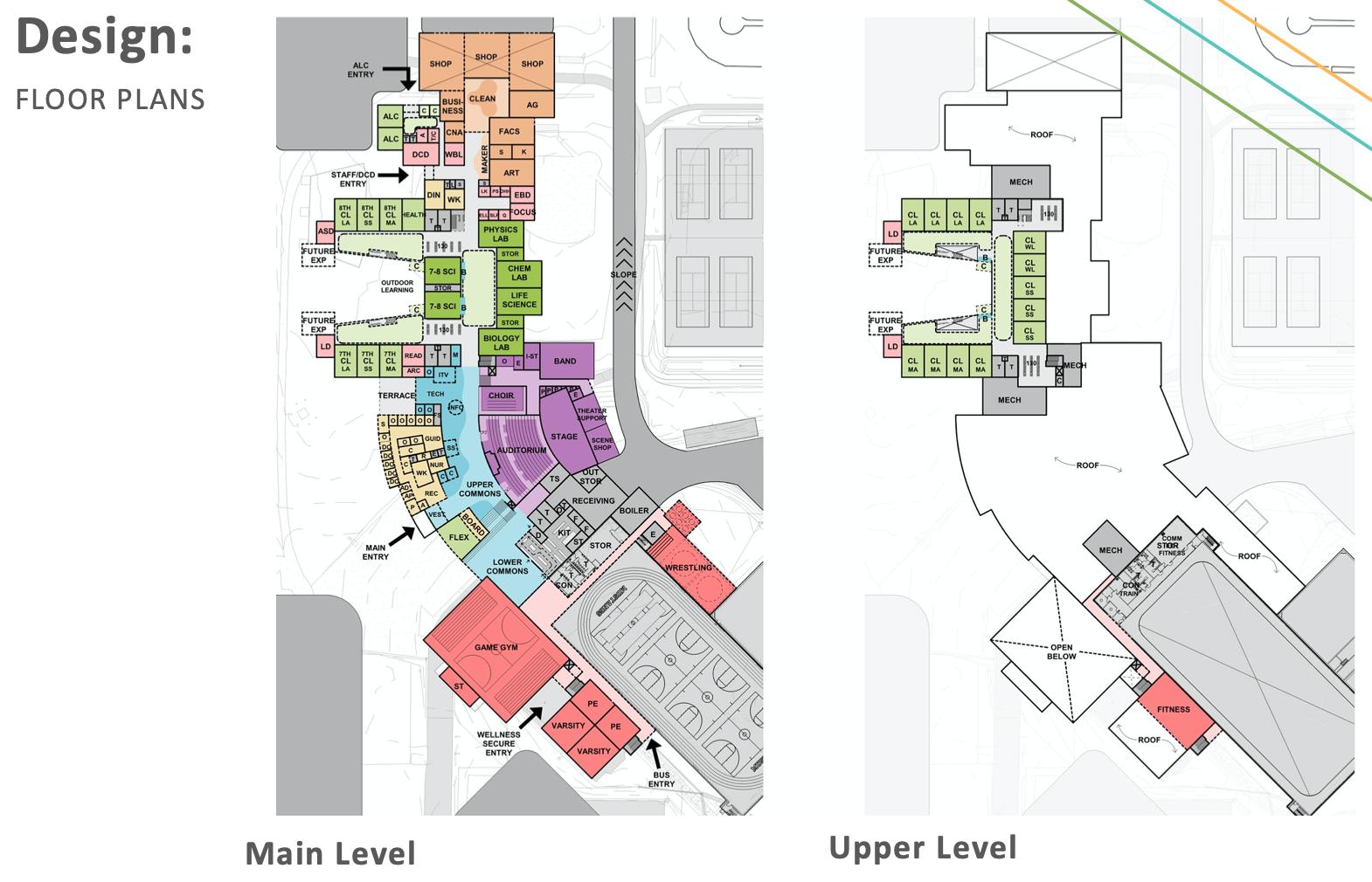 Mora High School 2023 floor plan