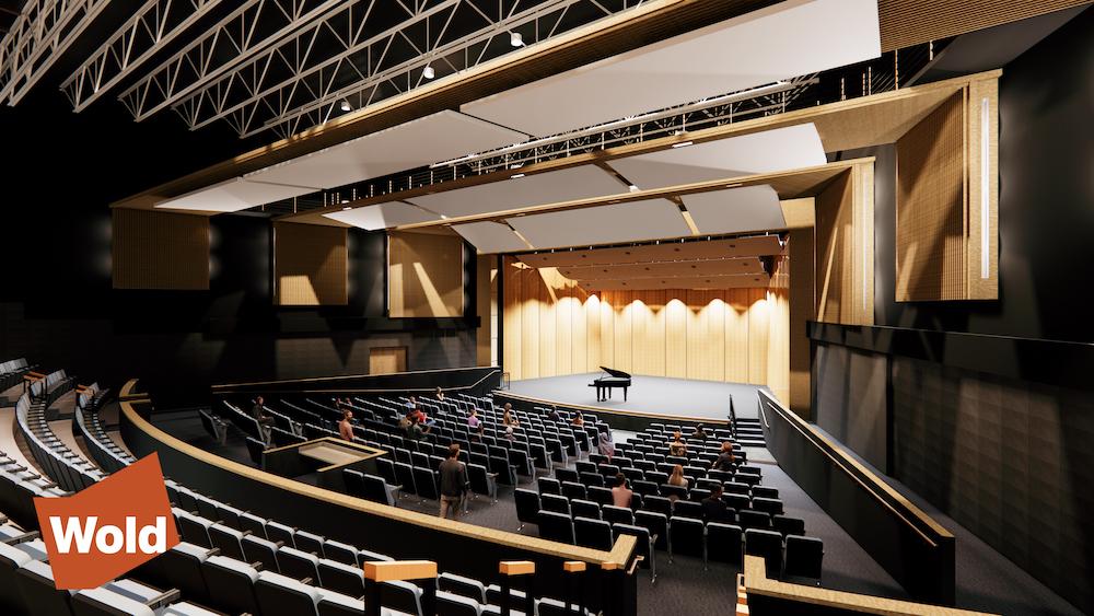 Mora High School 2023 final rendering