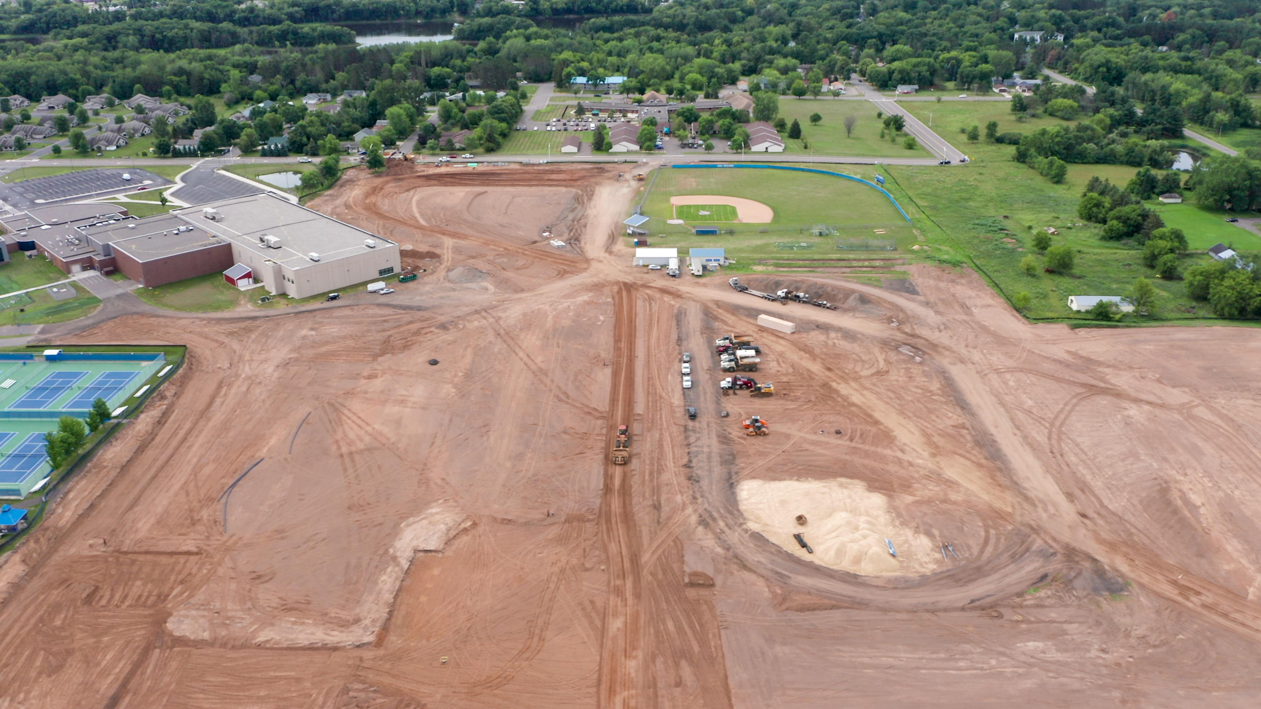 Mora High School new construction photo