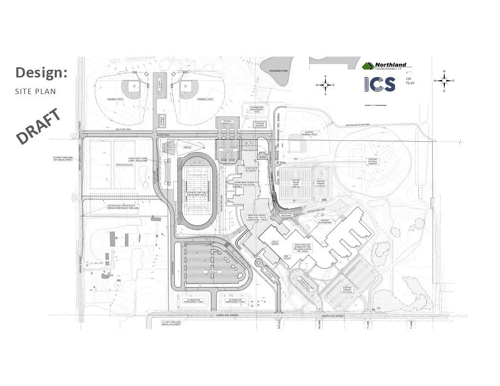 Site Plan Mora High School 2023