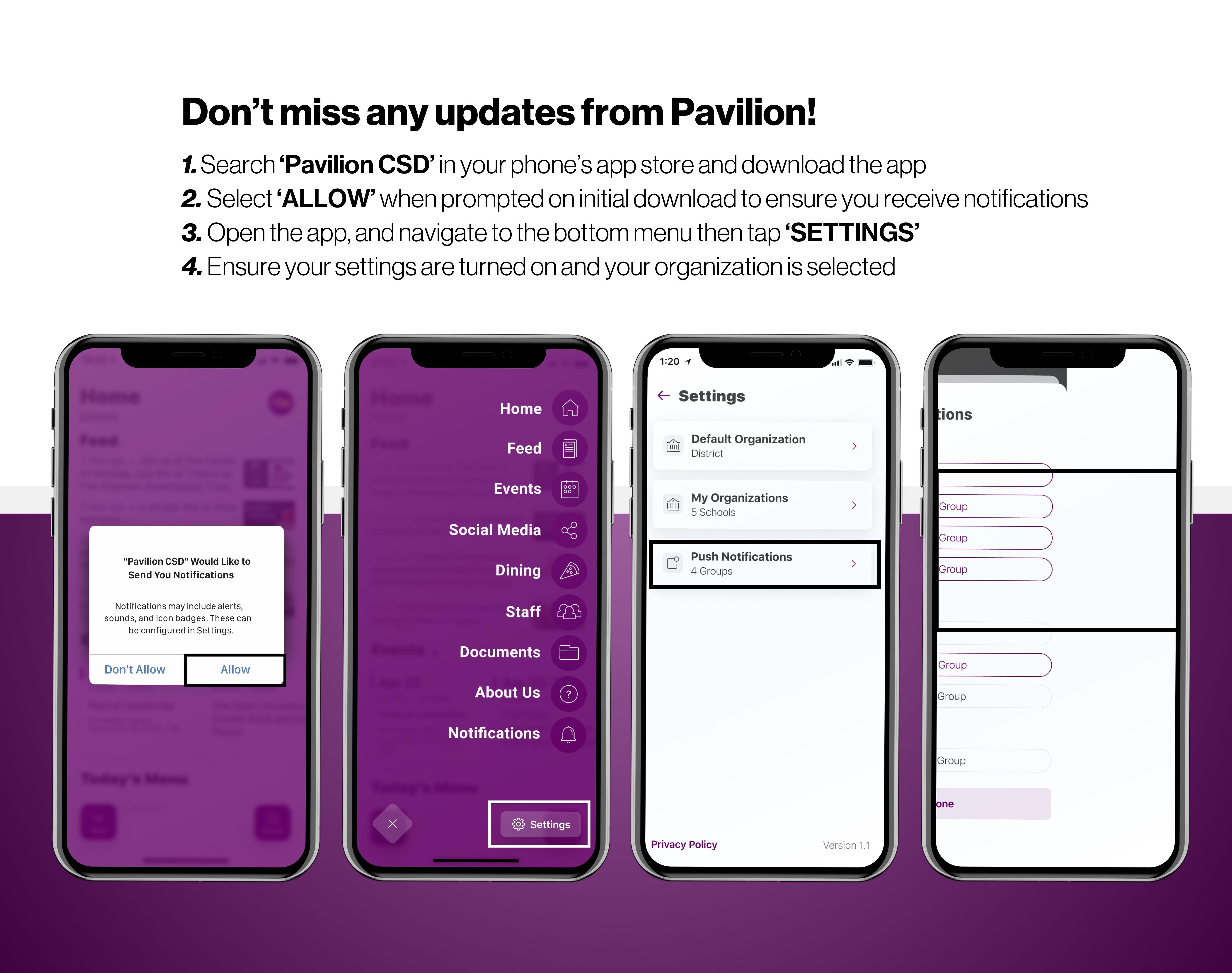 Receiving App Notifications