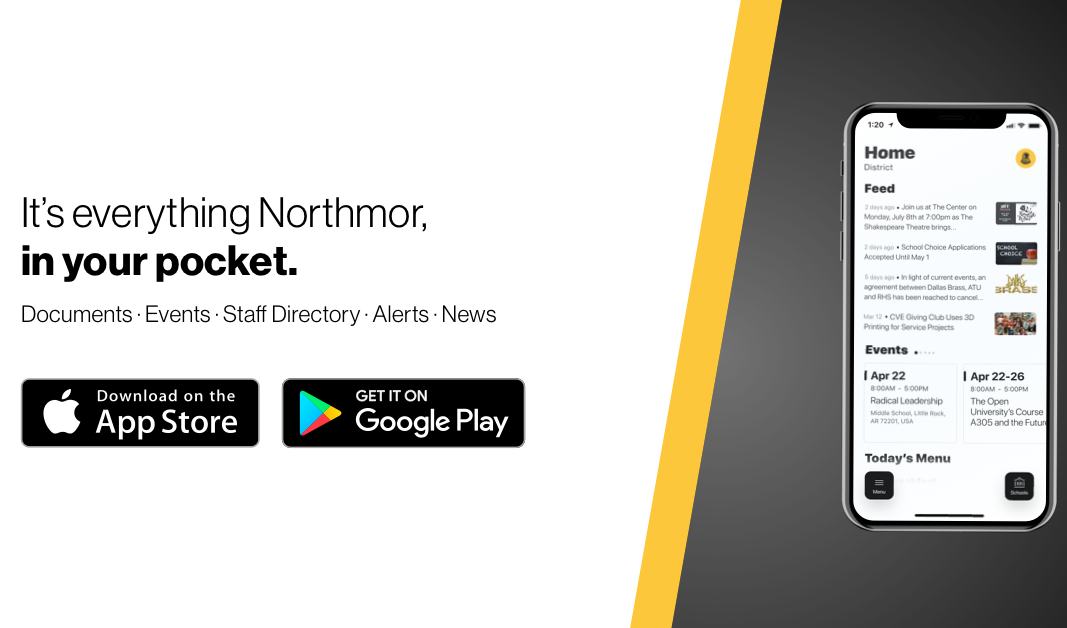 It's everything Northmor, in your pocket