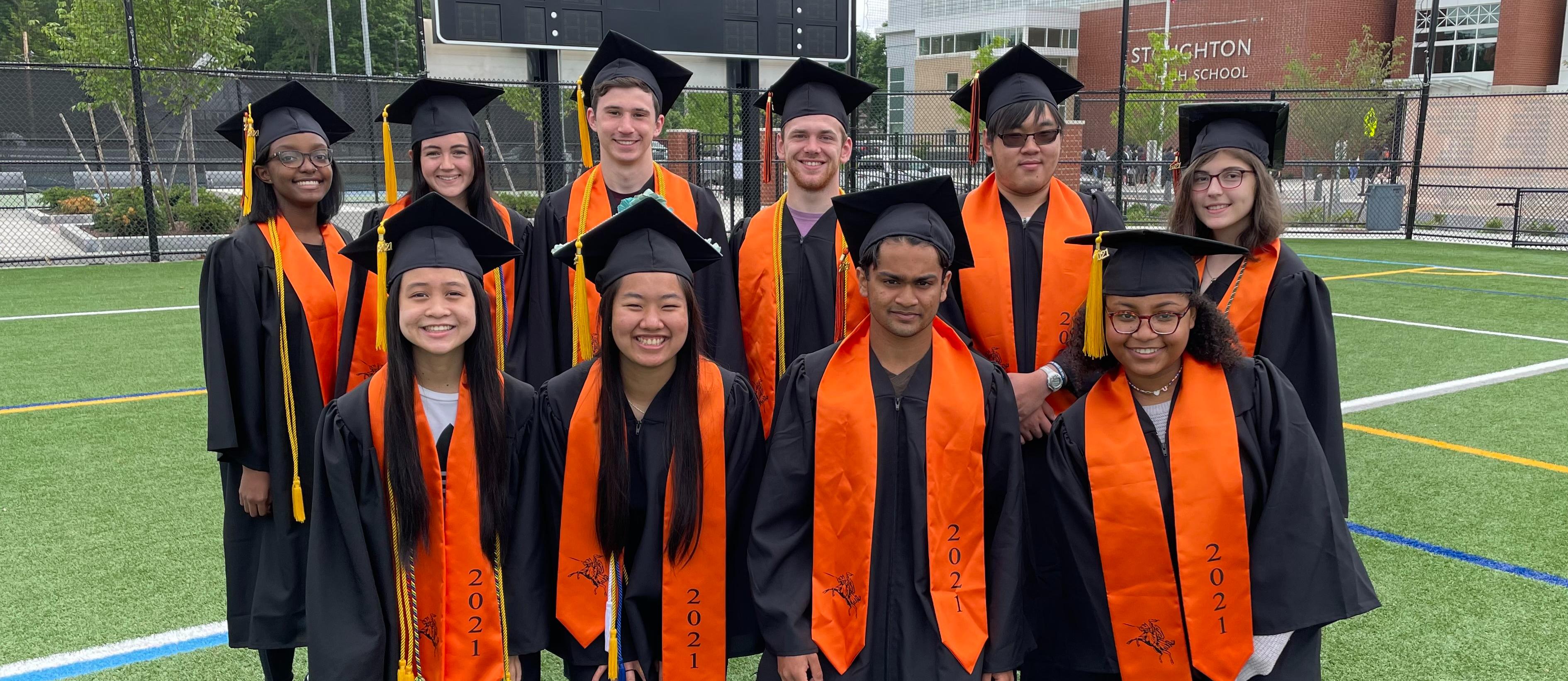 SHS Class of 2021 Top 10 Graduates