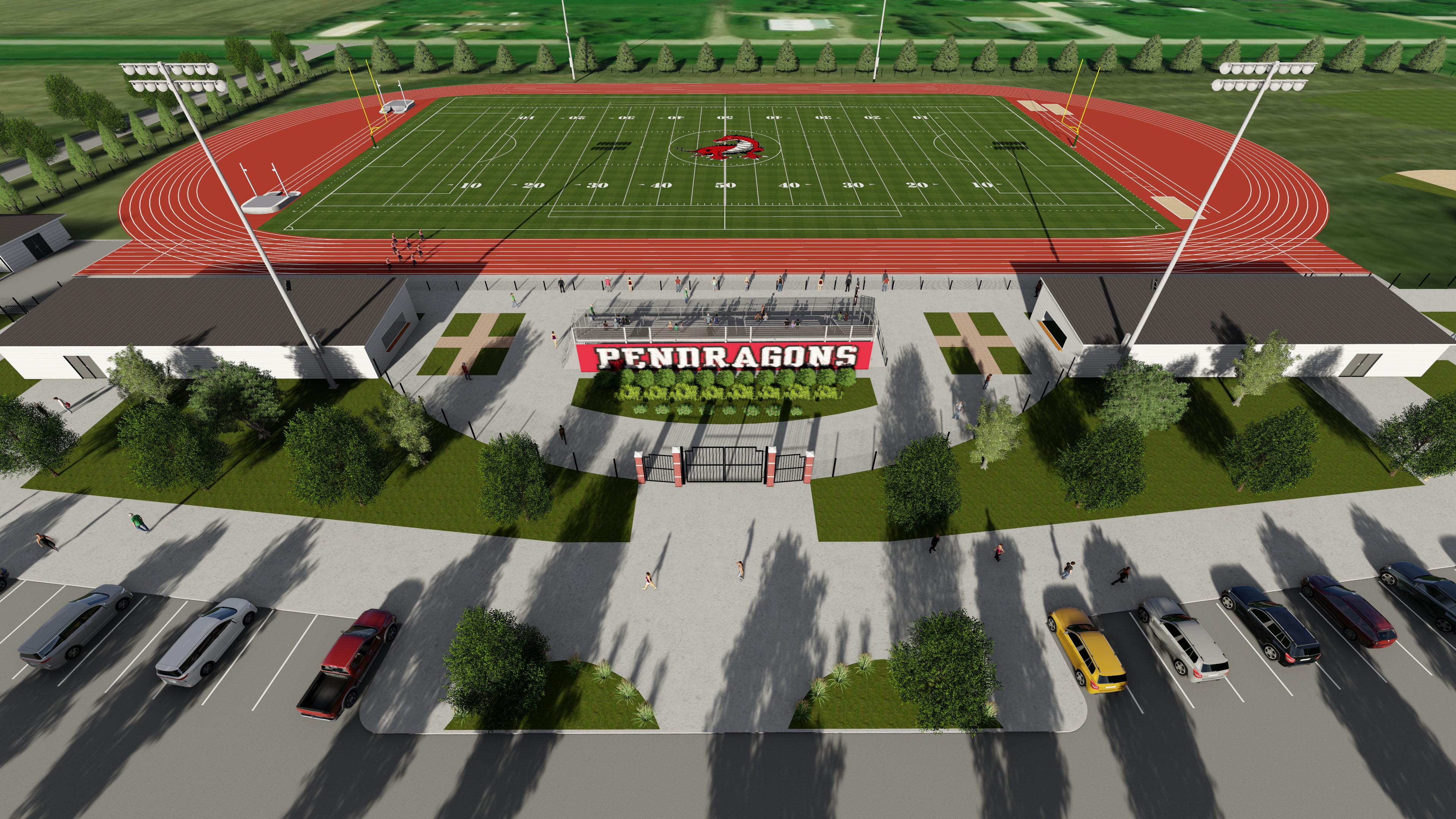 Pendragon sports complex