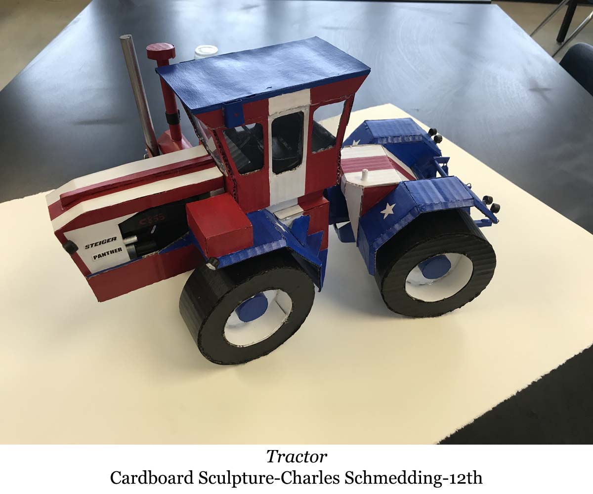 a picture of a tractor