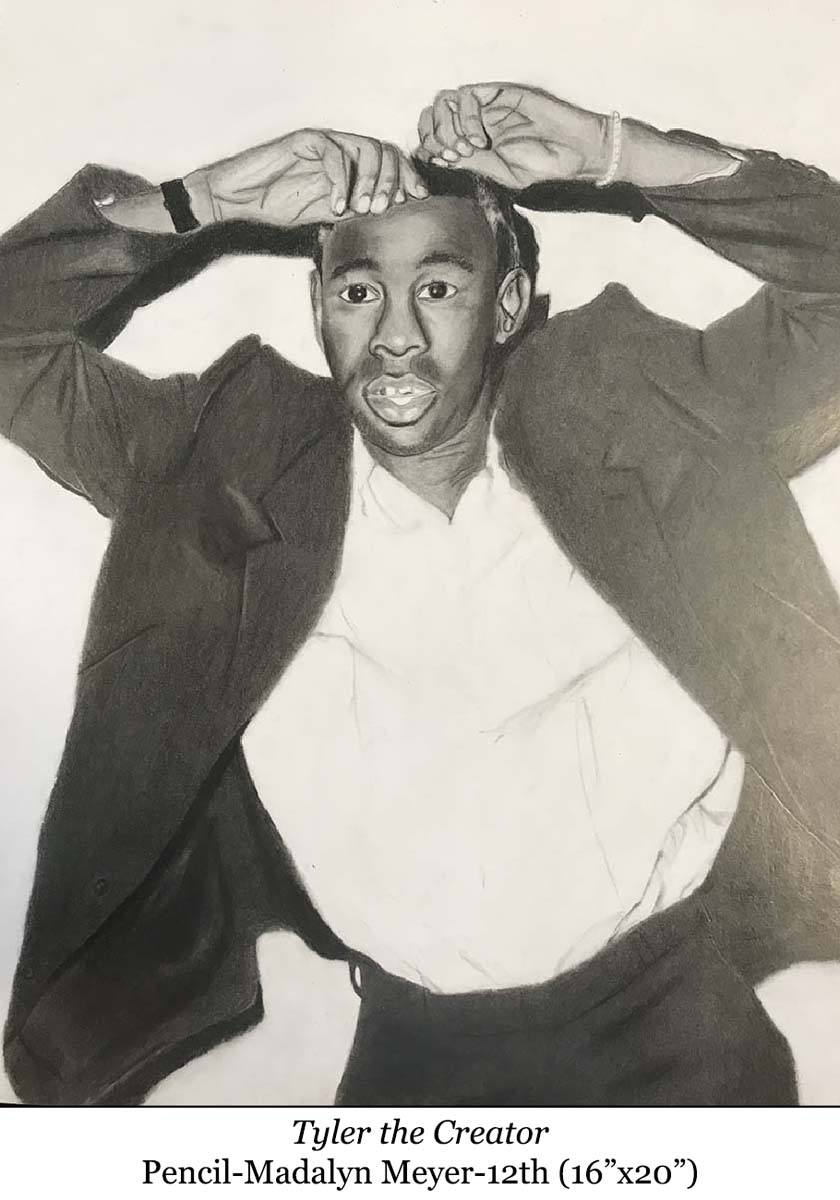 a picture of Tyler the Creator