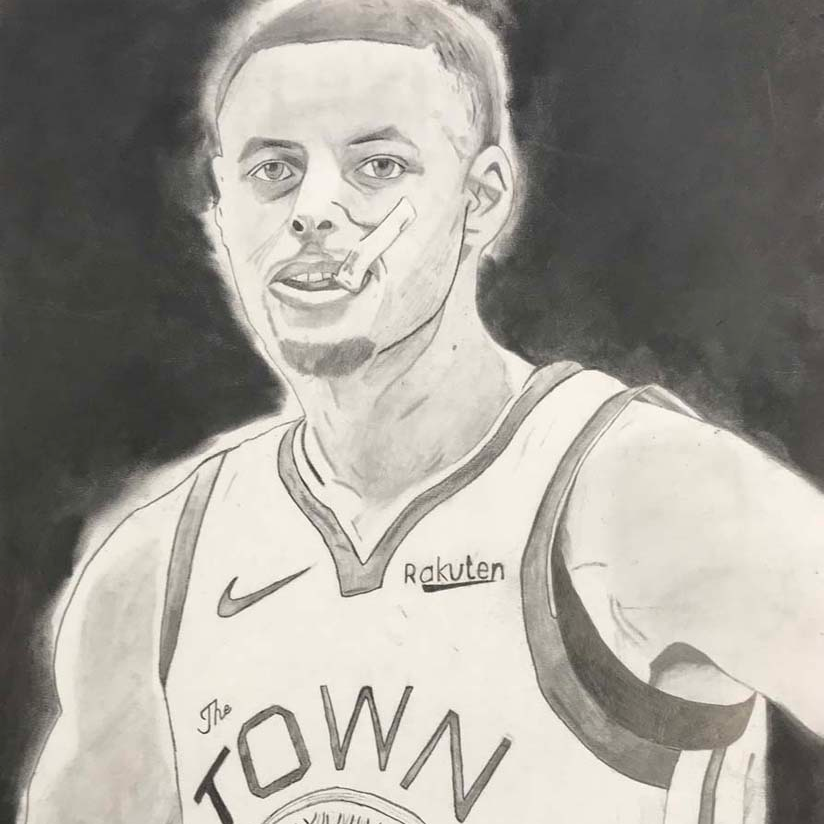 a picture of steph curry