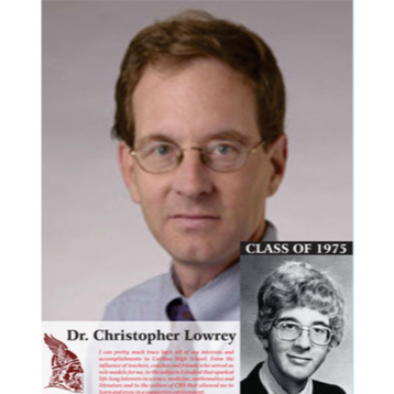 Dr. Christopher Lowrey - Class of 1975