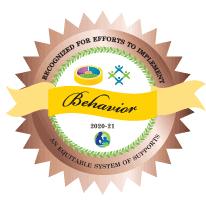 Behavior Award