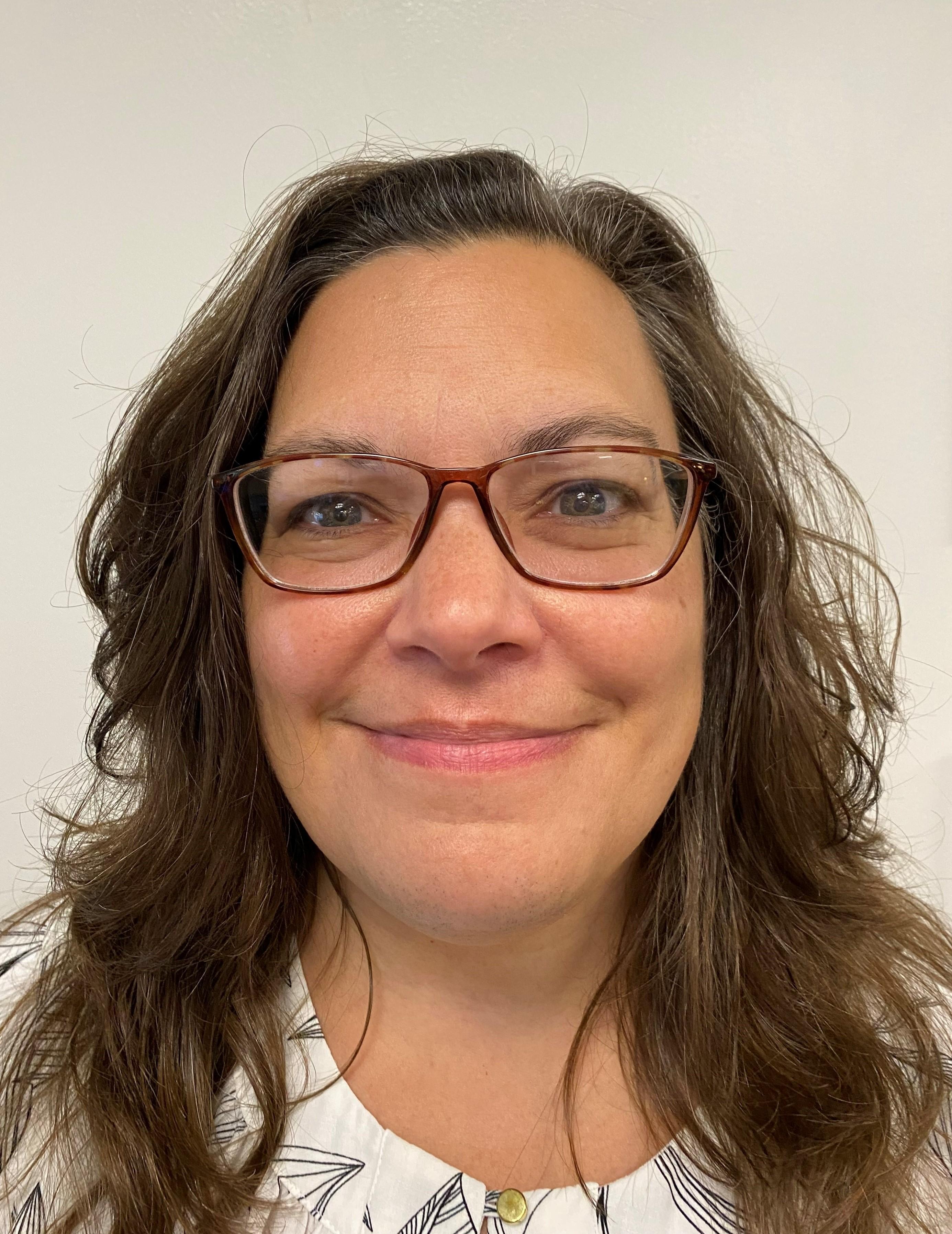 Middle School Secretary, Cynthia Wier