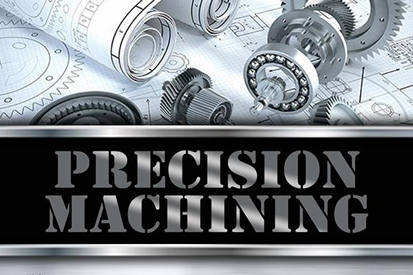 Precision machining logo