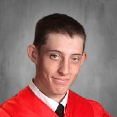 Cap and Gown Photo of Morgan Bass