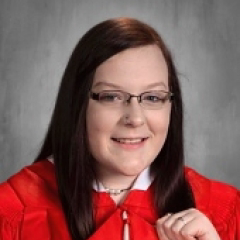 Cap and Gown Photo of Blaine Holmes