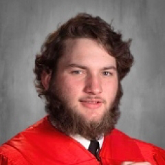Cap and Gown Photo of James Reppond