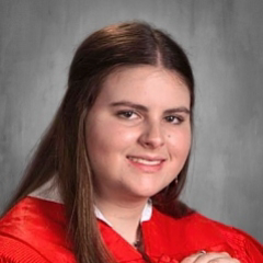 Cap and Gown Photo of Krystin Yarbrough