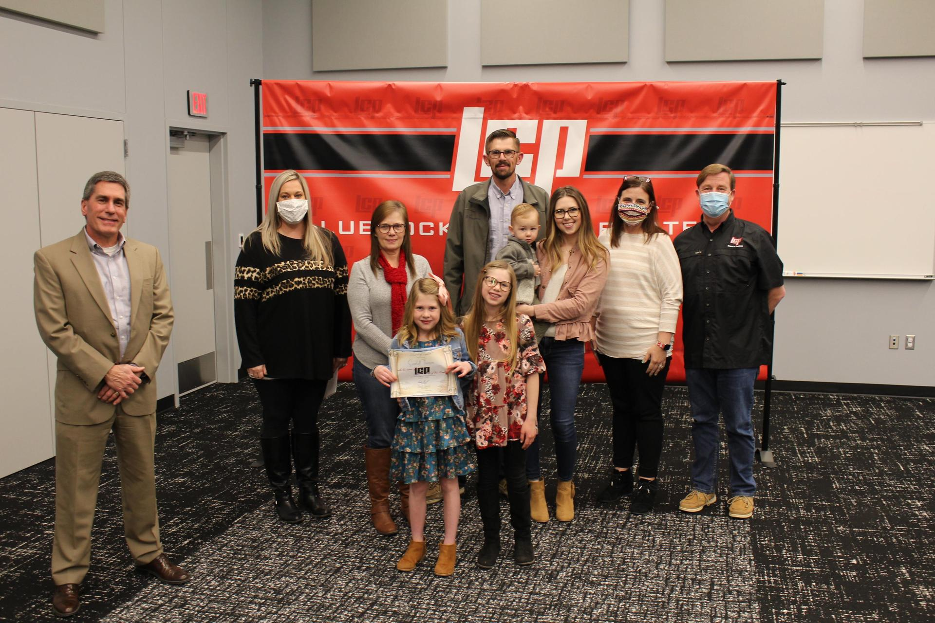 December 2020 East Elementary and Gold Award