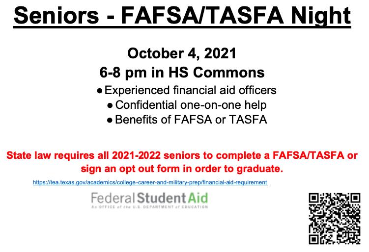 FAFSA/TASFA