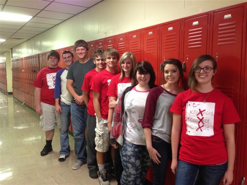 Comanche Academic Team photo