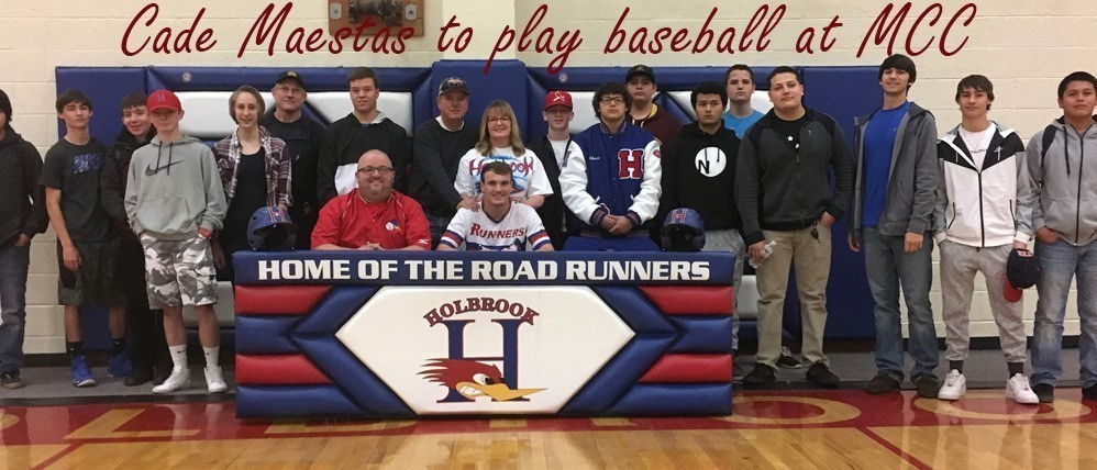 Student athlete signs to play baseball at MCC