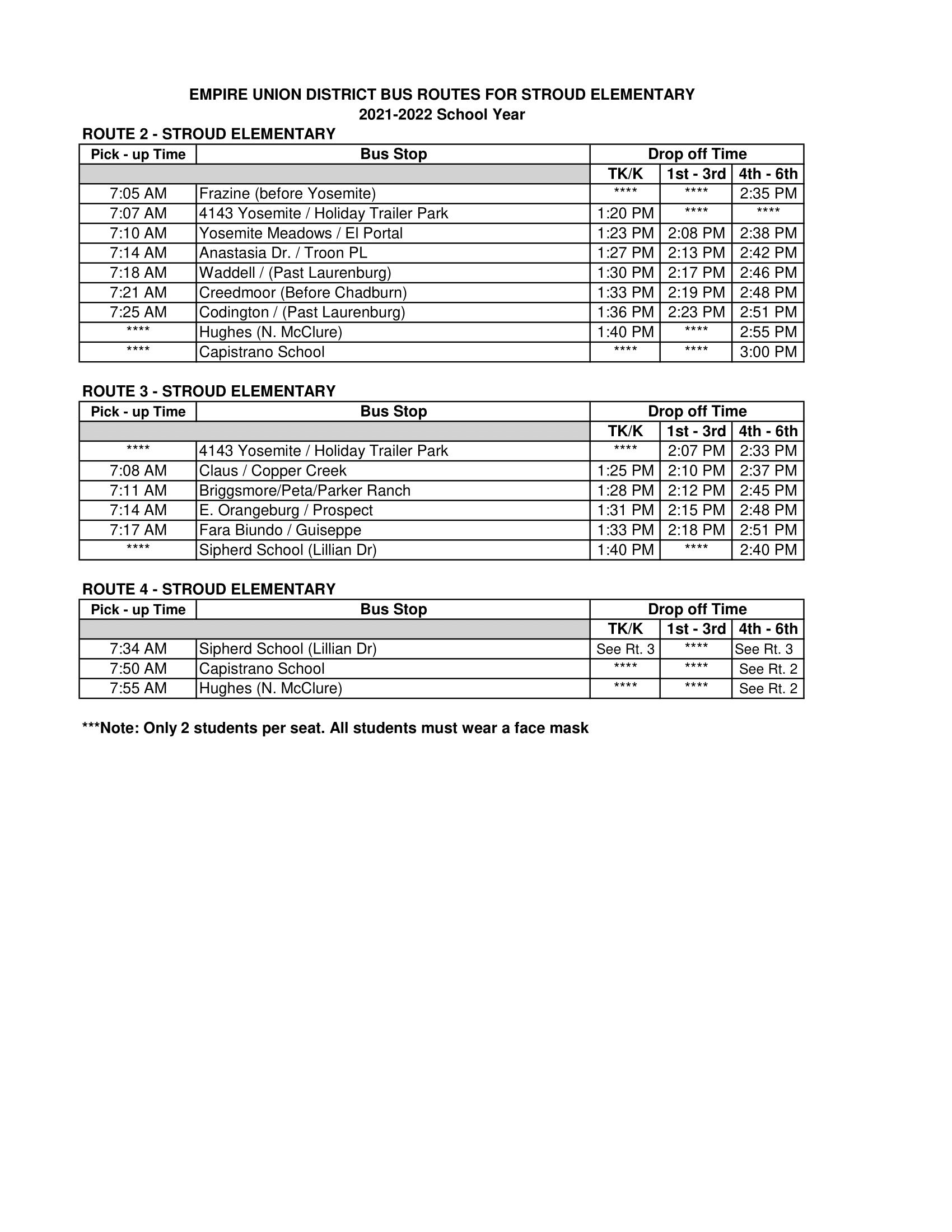 21-22 Stroud Bus Routes