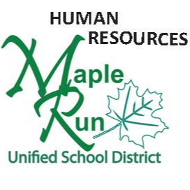 """Maple Run logo with """"openings"""""""