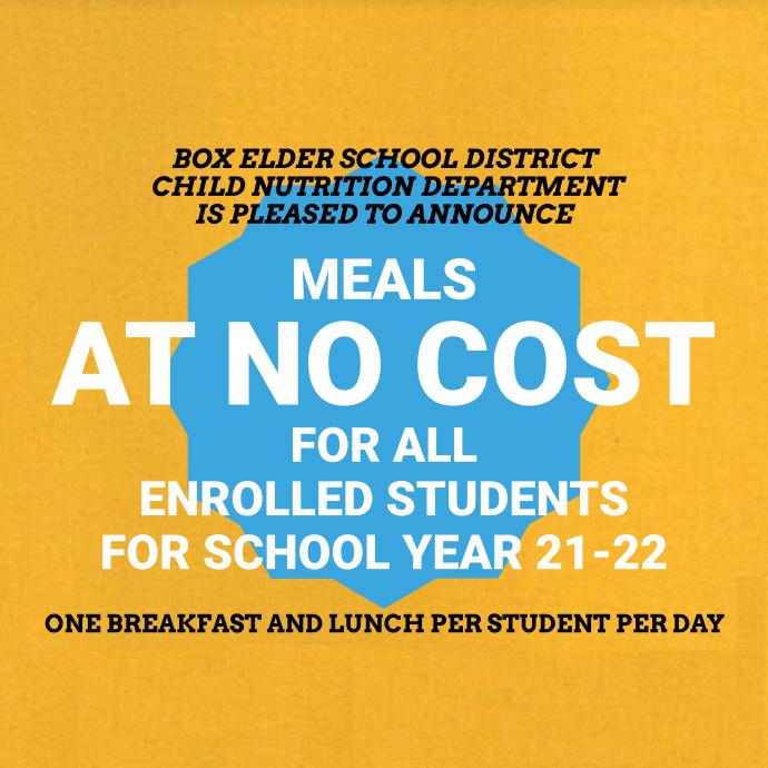 Meals at no cost