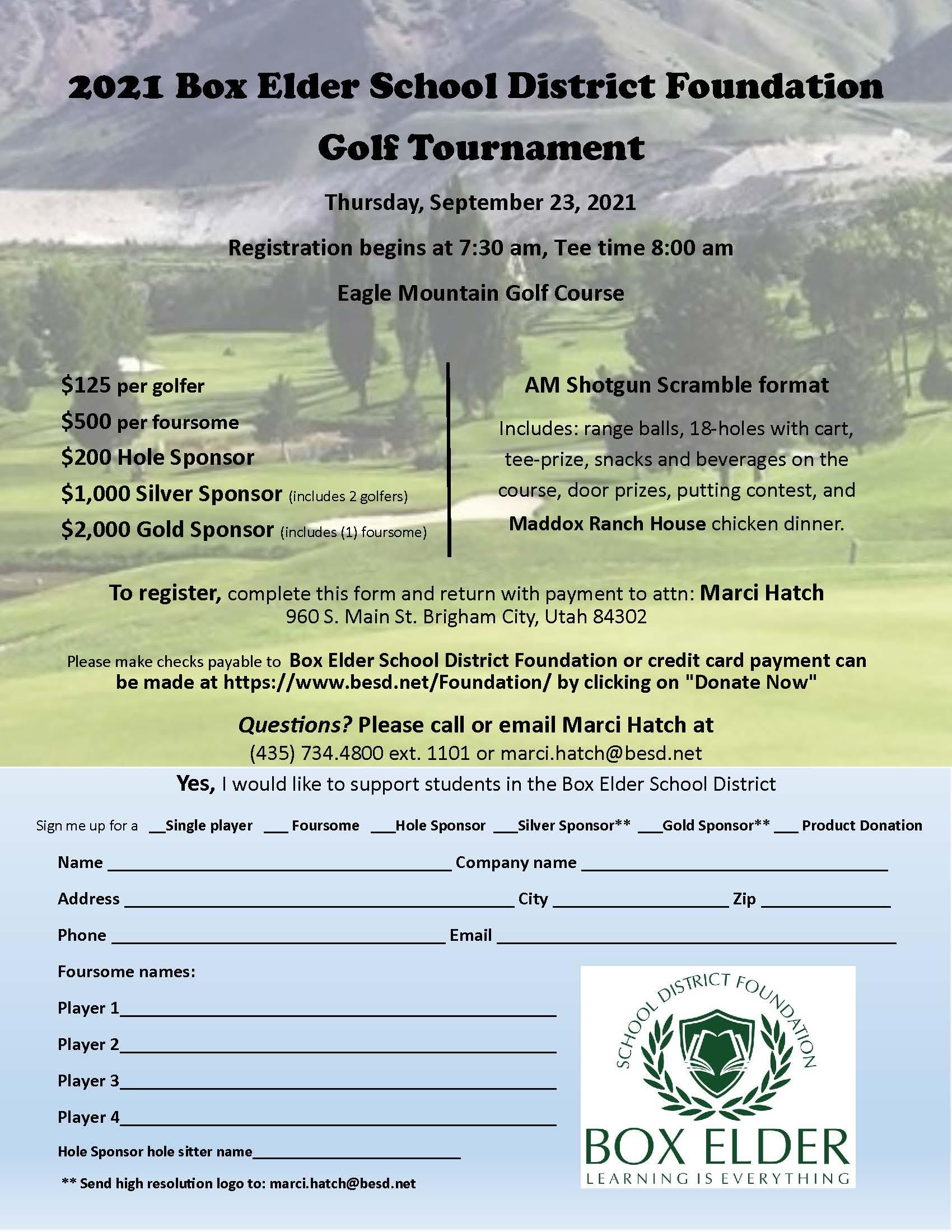 2021 Eagle Mountain Golf Tournament
