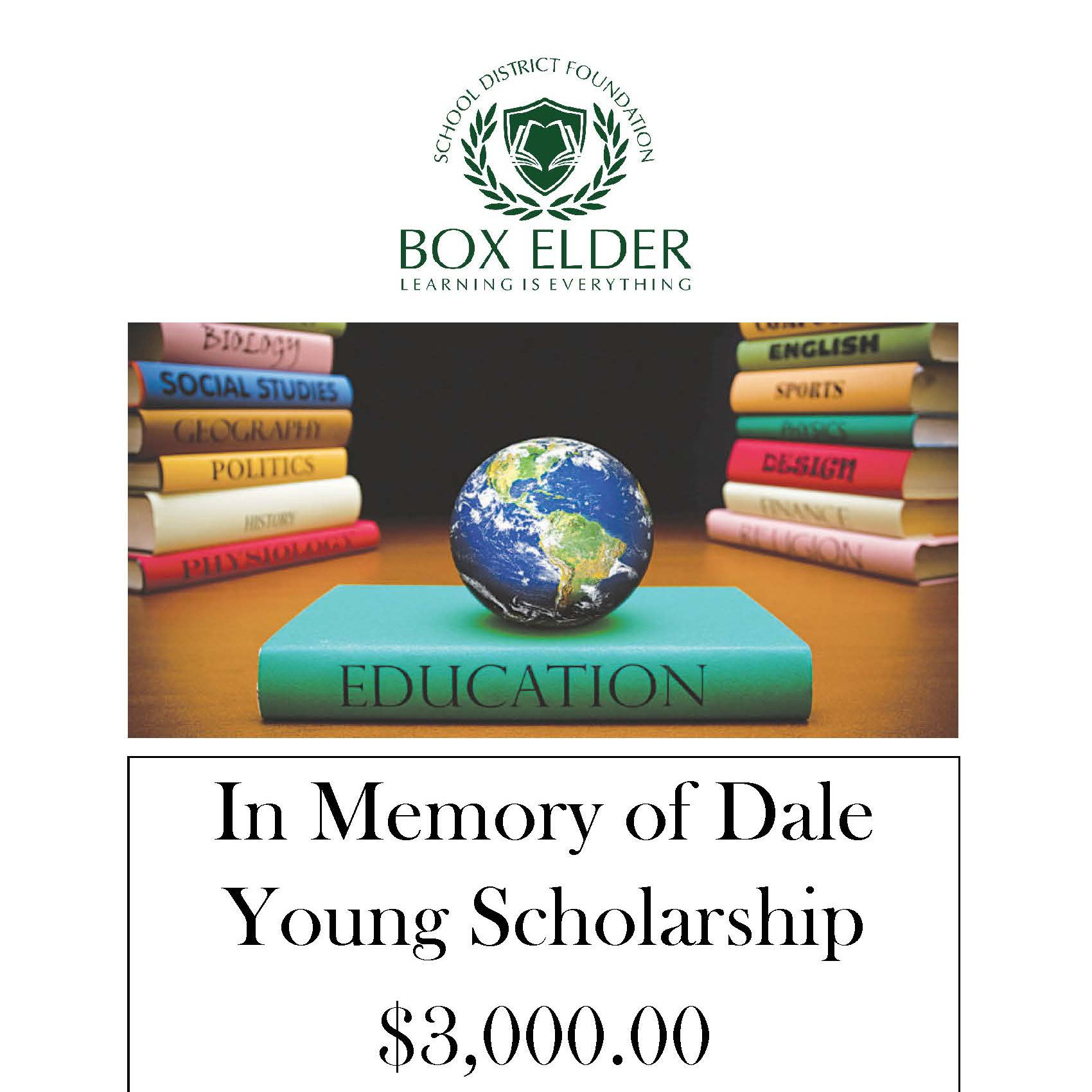 In Memory of Dale Young Scholarship