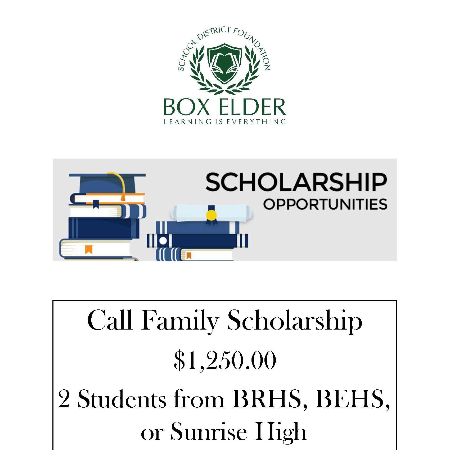 Call Family Scholarship