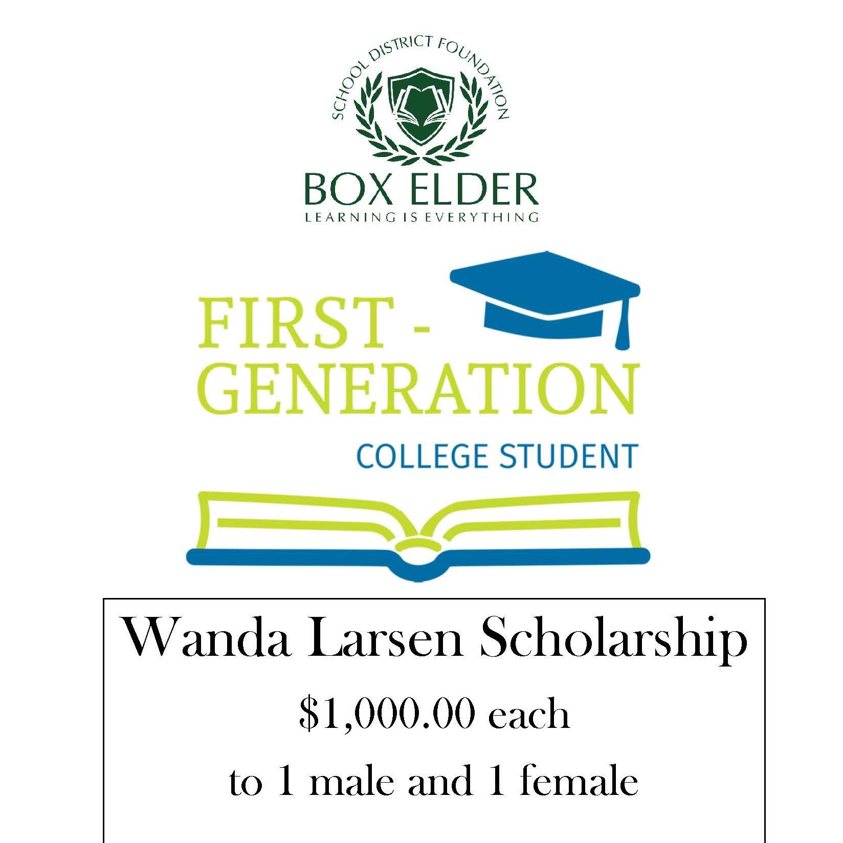 Wanda Larsen Scholarship