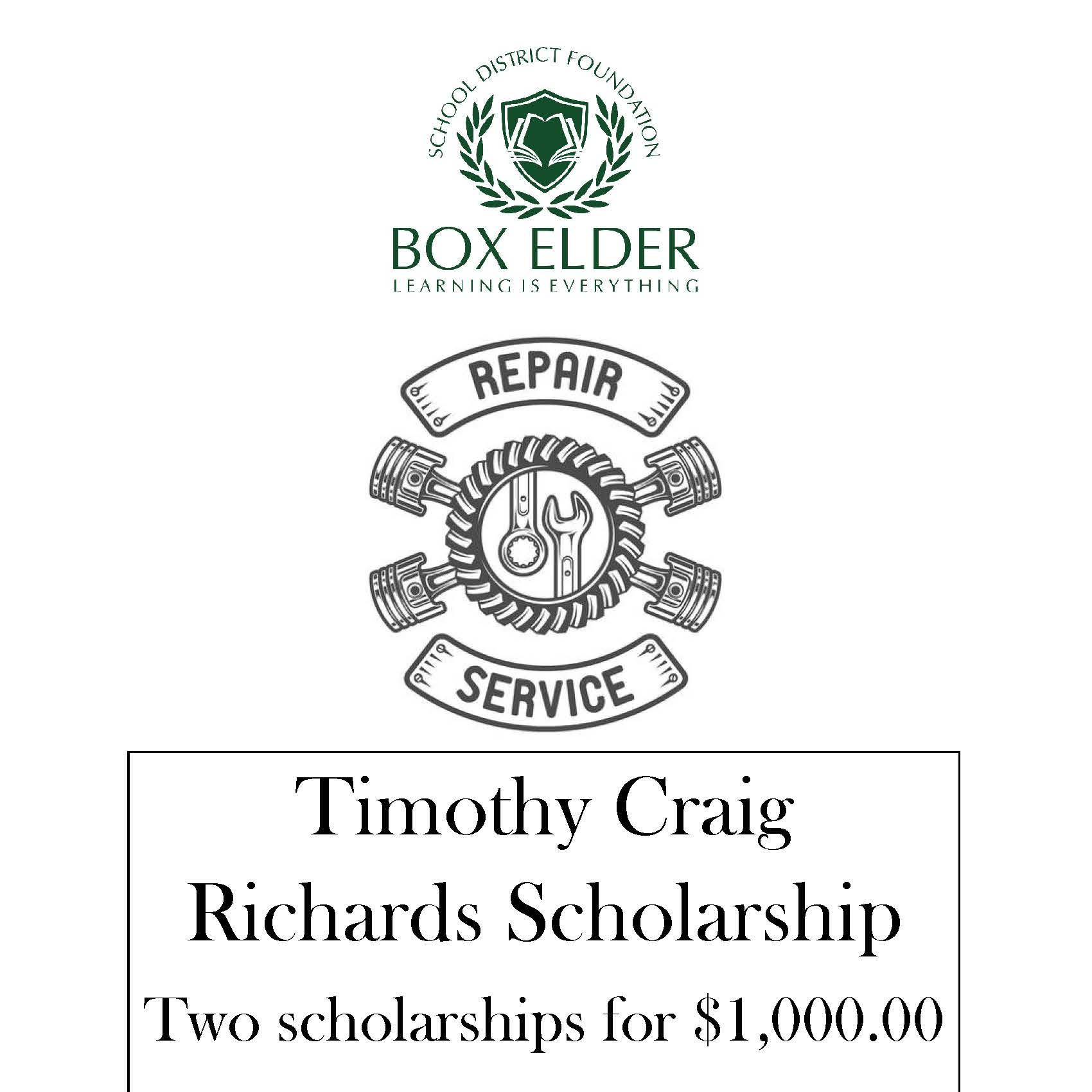 Timothy Craig Richards Scholarship