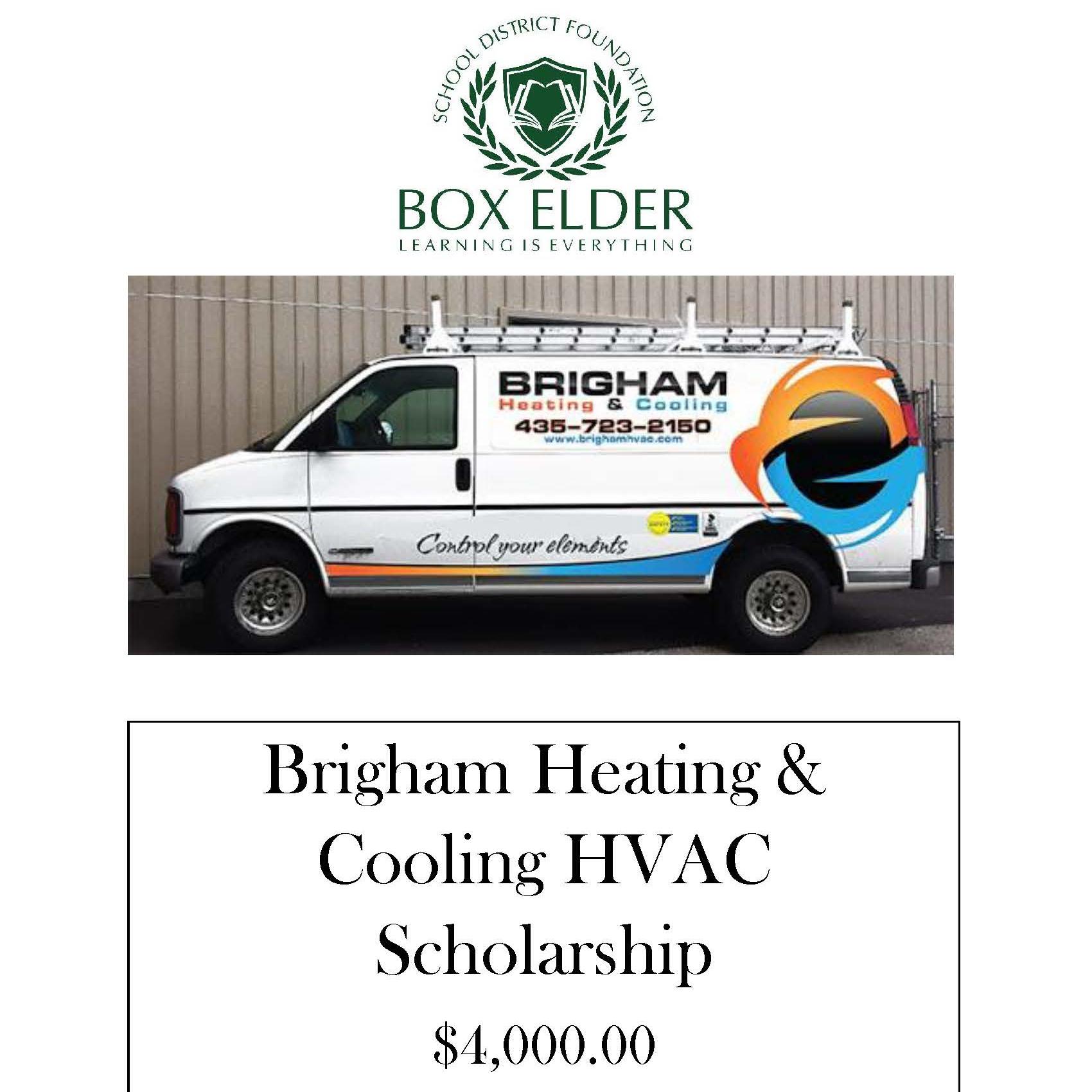 Brigham Heating & Cooling Scholarship