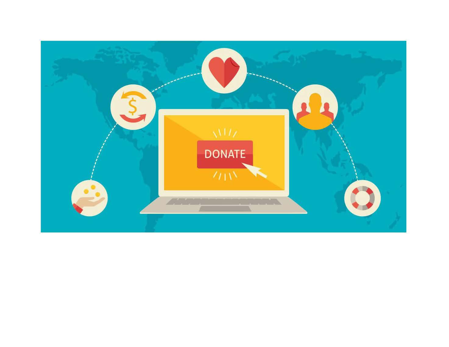 Electronic donation