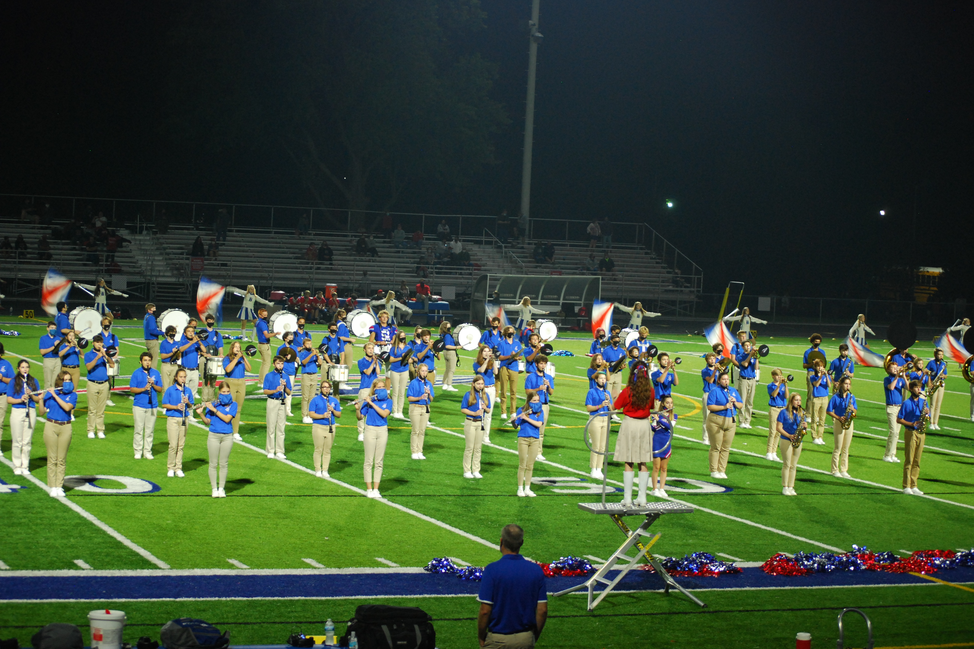 Marching Band on field