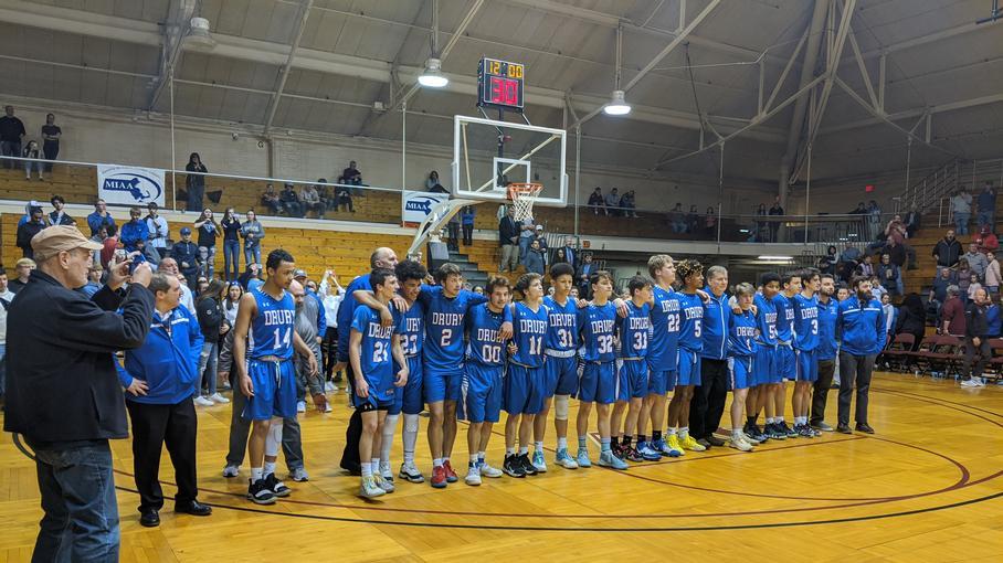 Drury Basketball Team