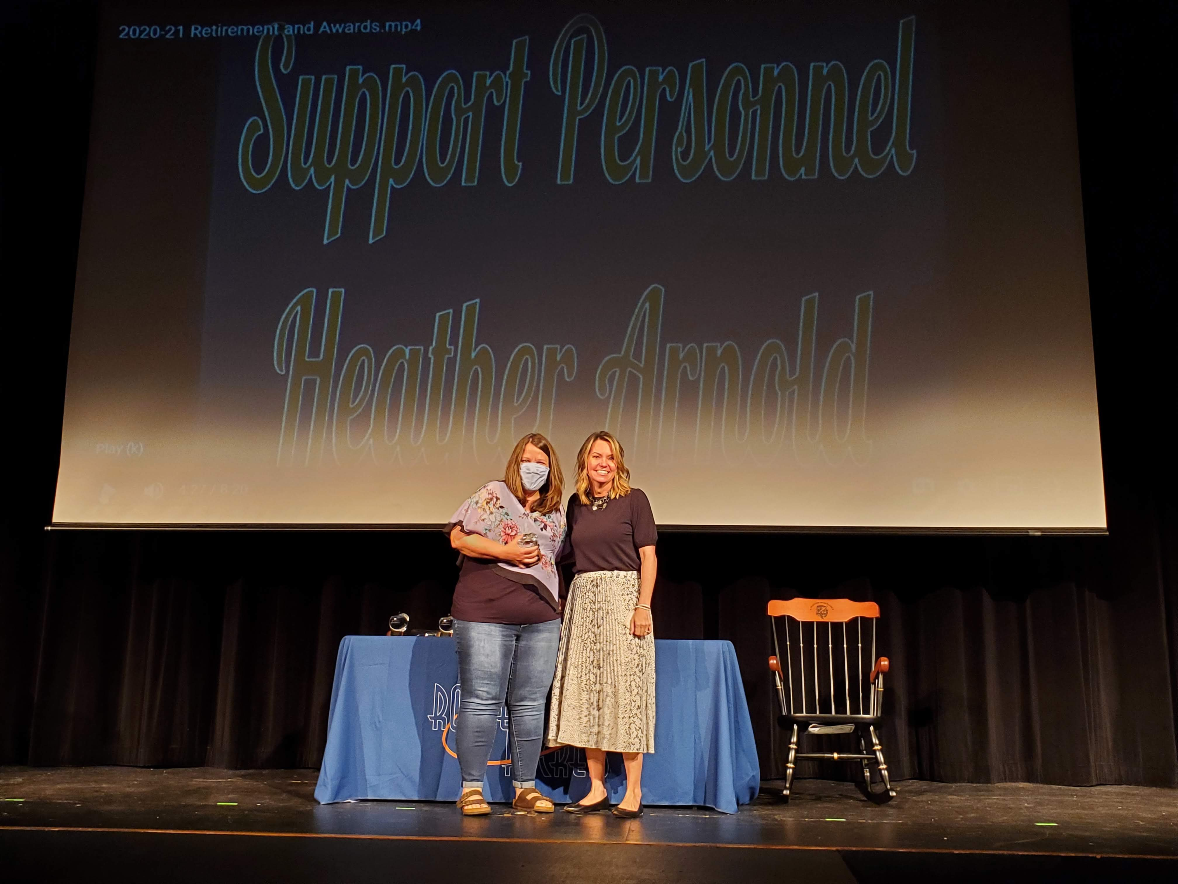 Support Staff of Year
