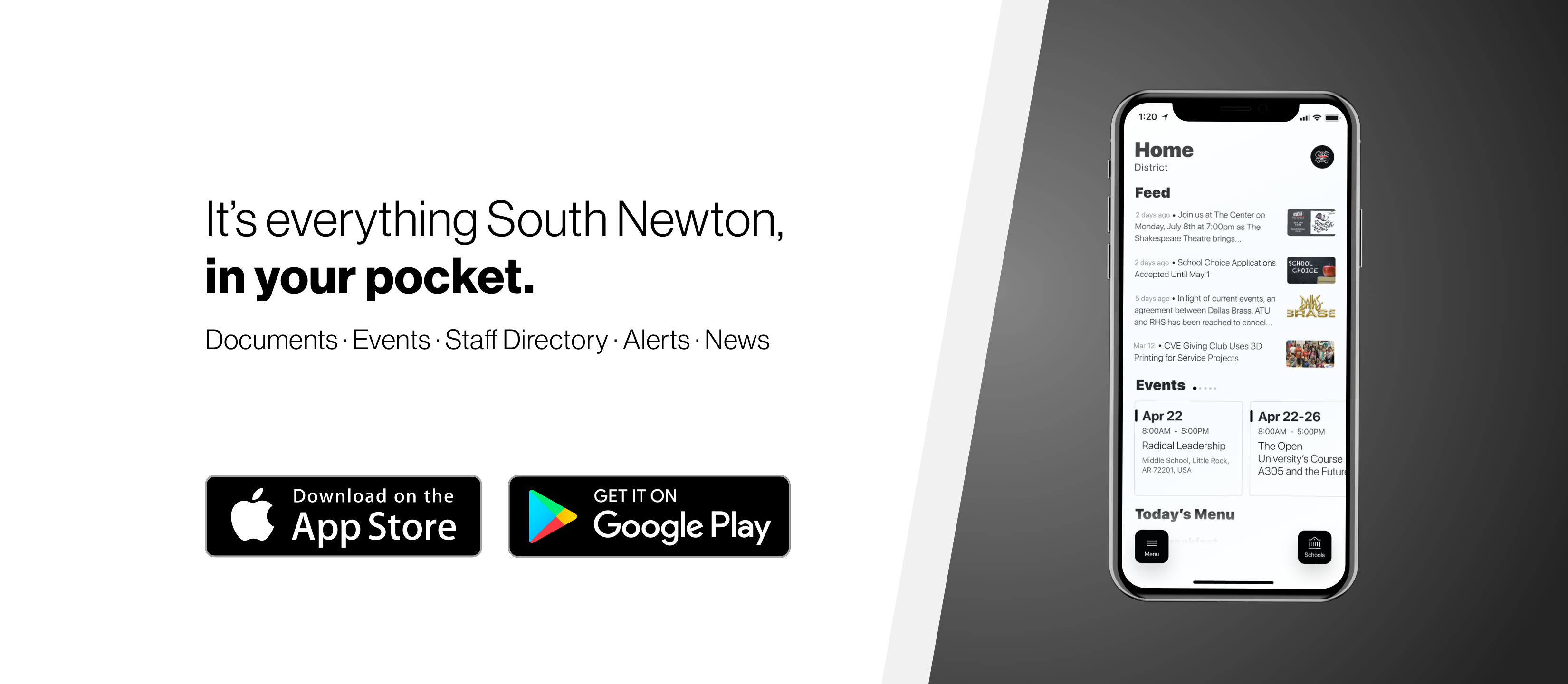 Download our new mobile app!