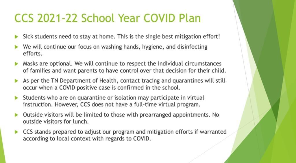 2021-22 COVID Plan