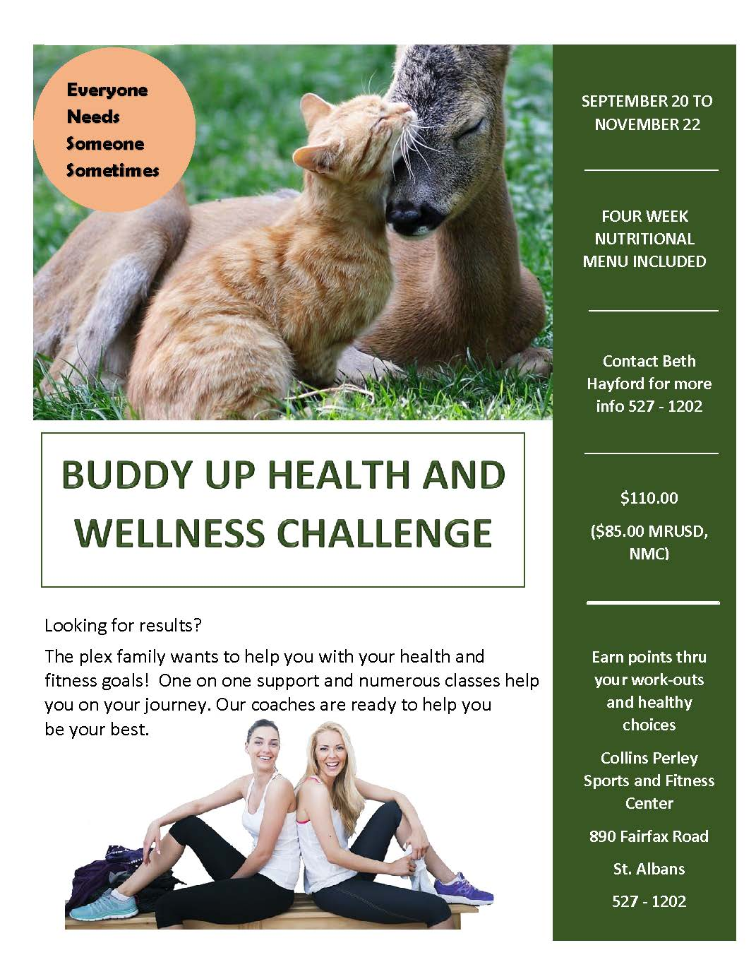 Buddy Up Challenge Overview